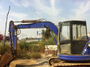 USED KOMATSU PC50UU CRAWLER EXCAVATOR/LOW PRICE FOR SALE