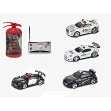 1: 58 Radio / C Car (4 funciones / con luz / con música) -Police Car