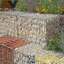 Caixa de Cesta de Gabião Hexgonal ou Soldada