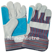 NMSAFETY cow leather glove leather made in China
