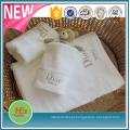 O algodão feito sob encomenda bordou a esteira de banho de toalhas de mão de toalhas de banho