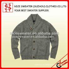 Suéter de lana de cordero para hombre