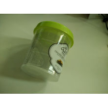 Disposable Clear Plastic for Ice Cream Container Box
