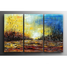 100% Handmade Canvas Art Abstract Painting for Living Room (XD3-126)