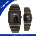 Dame Quarz Weiß Uhr Paar Schreiben Uhren Mode Design Watch für Paar Liebhaber