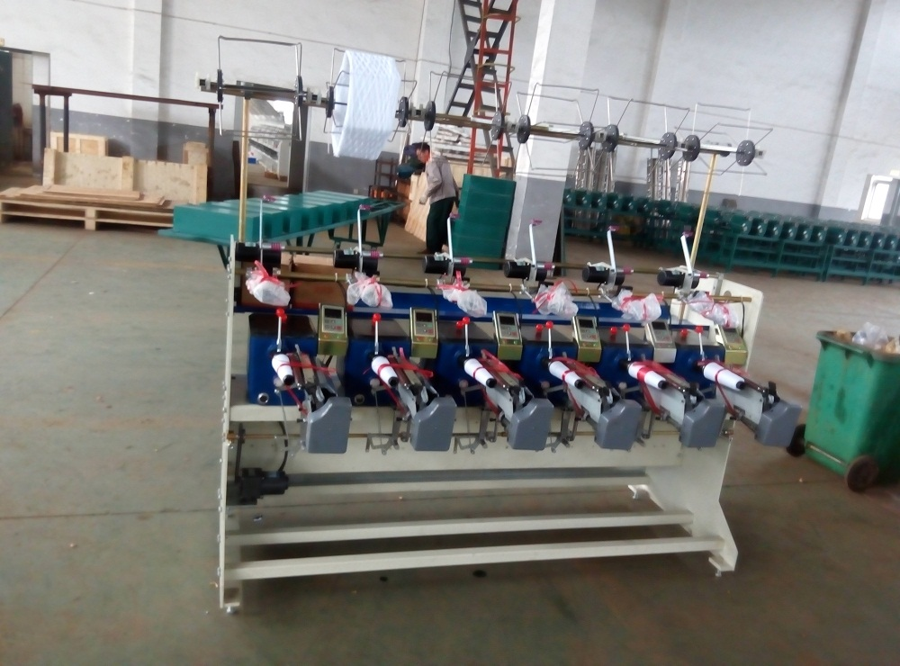 Hank to Cone Thread Rewinding Machine