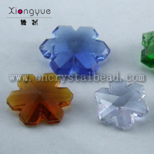 Crystal snowflake shape beads
