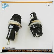 10A em painel suportes de tubo de vidro 5x20mm