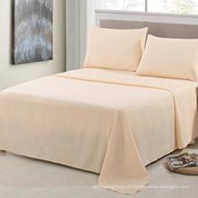 Lençóis de cama 300TC Poly / algodão 25/75 Sateen