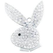 Full Capacity Rabbit USB Flash Drive Diamond Jewelry Necklace