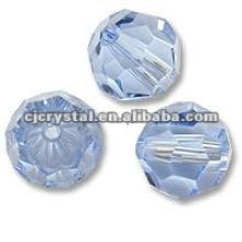 2015 Copo de cristal cortado grânulos, contas de vidro barato