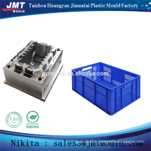 China injection stacked plastic crate mould