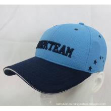 Бейсбольная кепка спортивного гольф-шапка с сэндвич-козырьком (WB-080140)