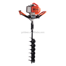 52cc 1700w Hand-Held Manual Fence Post Hole Digger Earth Auger Drilling Machine Portable Ground Hole Drill