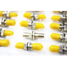 Alto rendimiento Baja pérdida de inserción Fibra óptica ST Adaptador de alta calidad