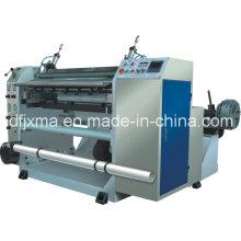 Rollo de papel bancario cortante y máquina de rebobinado