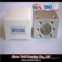Sfu1204 Soporte de tuerca de husillo de bolas de aluminio de alta calidad