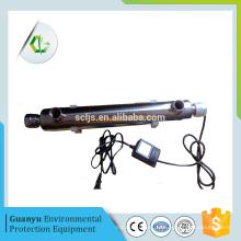 Uv luz água purificador portátil uv purificador de água inline uv esterilizador