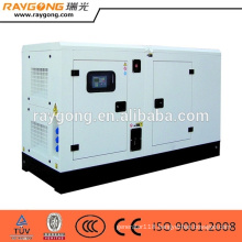 36kw 45kva diesel generator set silent type with ats cheap price