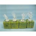 Pumpkin Candlestick Shape Ceramic Crafts (LOE2366-E7z)