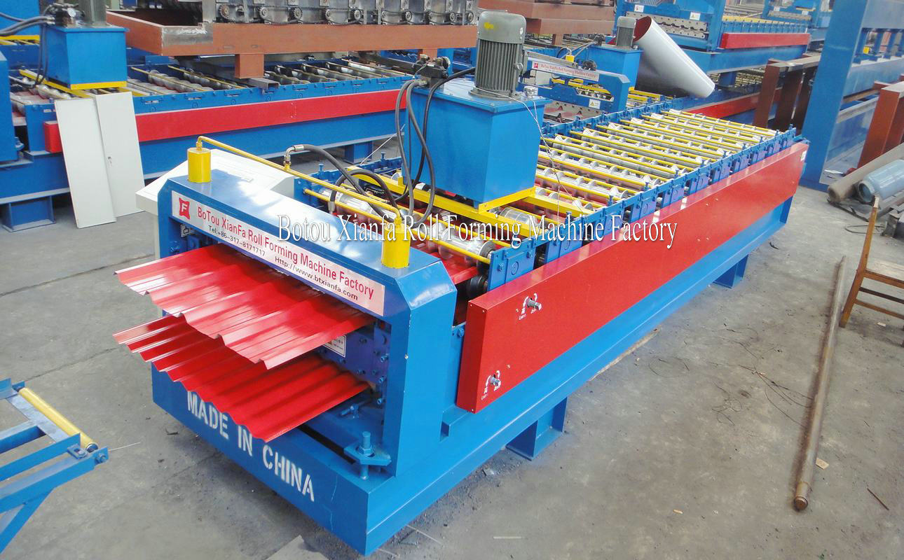 roll forming machine for glazed tile