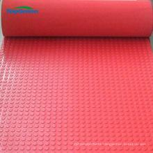 anti slip blue yellow red black stud rubber sheet
