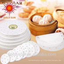 Papel reutilizável do cozimento do produto comestível da Não-vara da cozinha