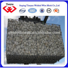 2X2X1m hexagonal wire netting gabion basket
