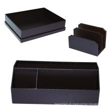 Produtos de papel de papel da mesa da caixa dos artigos de papelaria do presente do papel