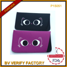 Weiche Sonnenbrille Tasche mit Tierbild P15051