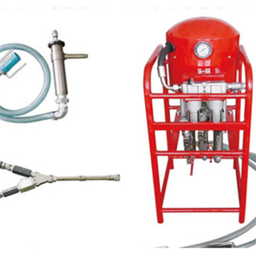Pneumatic Dual Fluid Injection Pump Dengan Tiga Pompa
