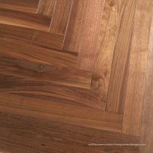 Plancher de bois d'ingénierie de haute qualité de noix
