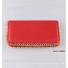 New Fashion Women Leather Wallet with PU