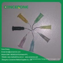 Disposable Irrigation Needle for Dental Syringe Pre-Bent Flow Tip