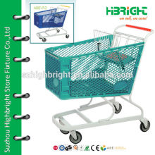 plastic grocery trolleys