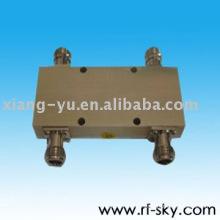 Pérdida de inserción baja 2x2 2 en 2 fuera Coaxiales de 90 grados Puentes de híbridos 3DB rf