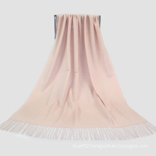 Fashion Accessories Light Skin Color Cashmere Wrap Lady Scarf