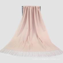 Acessórios de moda Cor de pele clara Lenço de cachemira Lady Scarf