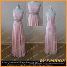 Made in China Bilder von Latest Pageant Kleid trägerlosen Abend Party mit Strass Brautkleid BYE-14048