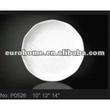 Thali louça placas de cerâmica / pratos P0526