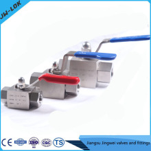 China best-selling SS high Pressure solenoid ball valve