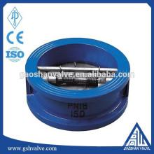 cast iron dual plate check valve