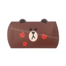 Cajas vacías de encargo baratas populares del chocolate 150 * 105 * 30m m