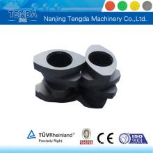 Componente de extrusão para parafuso resistente ao desgaste