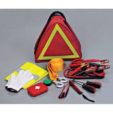 Car Safety Kit with Warning Triangle