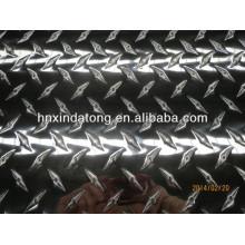 placa de piso de alumínio brilhante 1050 H14
