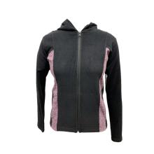 Женская вязаная куртка с длинным рукавом
