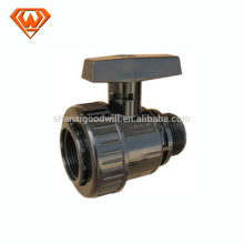 plastic single union ball valve