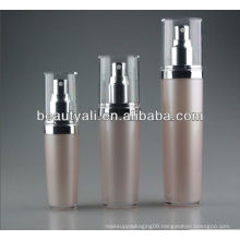 Pink Cosmetic Packaging Acrylic Lotion Bottle