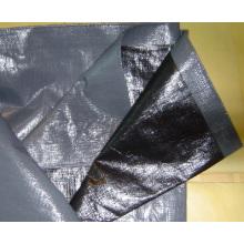 Black Plastic Tarpaulin Sheet